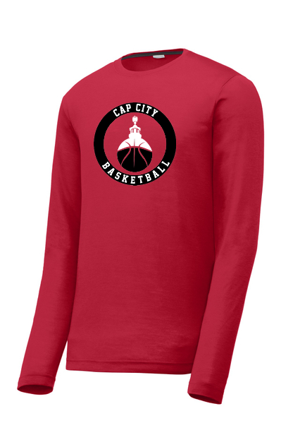 Cap City Basketball Long Sleeve Performance Tee