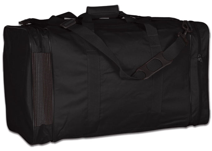 Image of a black Personal Gear Bag from Str8 Sports.