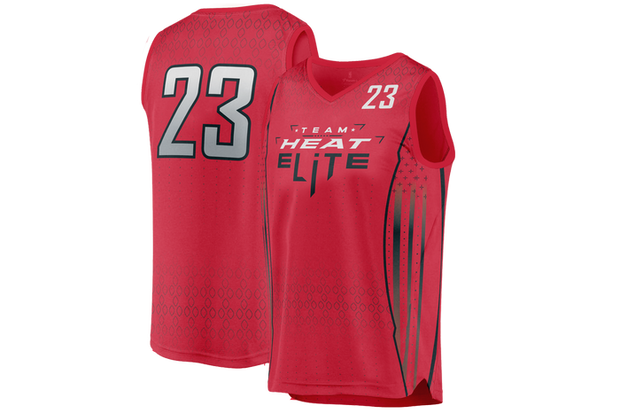Team Heat Elite Game Day Reverse Jersey