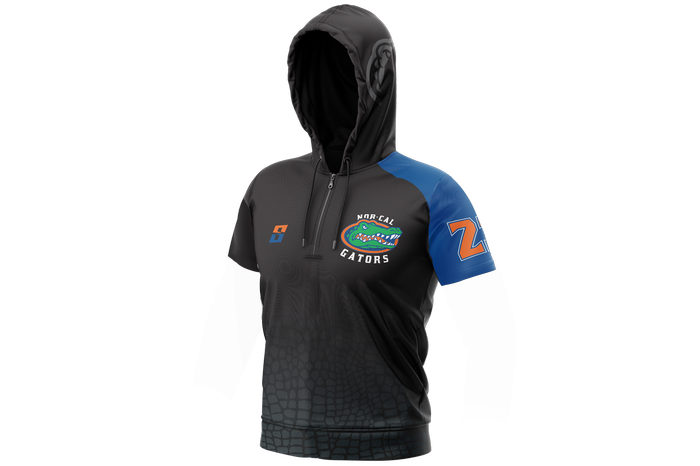 Norcal Gators Short Sleeve Hooded Shooting Shirt