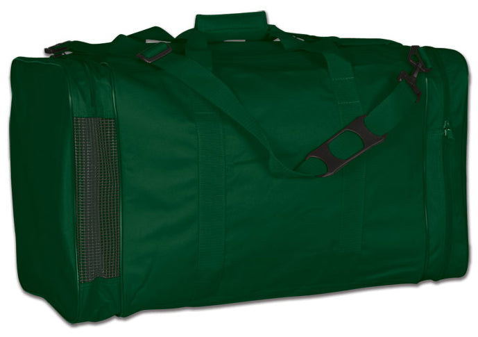 Image of a green Personal Gear Bag from Str8 Sports.