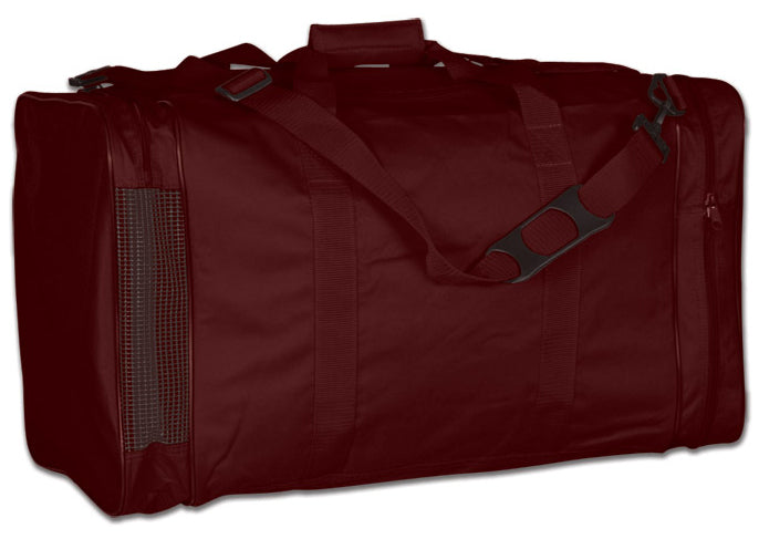 Image of a maroon Personal Gear Bag from Str8 Sports.