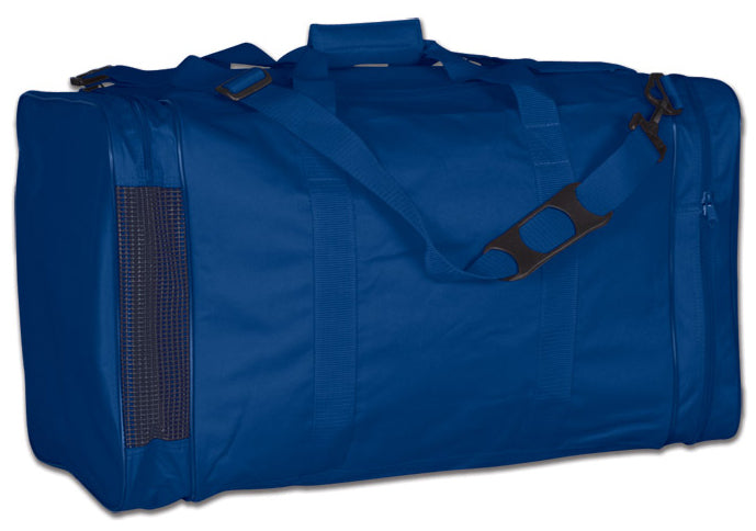 Image of a blue Personal Gear Bag from Str8 Sports.