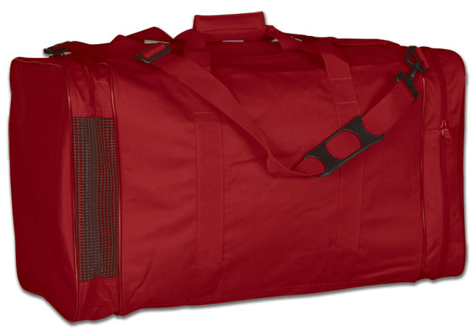 Image of a red Personal Gear Bag from Str8 Sports.