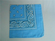 Load image into Gallery viewer, 100% Cotton Paisley Bandanas Double Sided (6 Count) - topjewelry4u.com