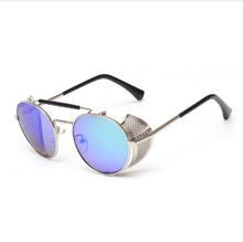 Load image into Gallery viewer, Light brown fashion steampunk sunglasses - topjewelry4u.com