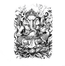 Load image into Gallery viewer, Waterproof full back tattoo sticker - topjewelry4u.com