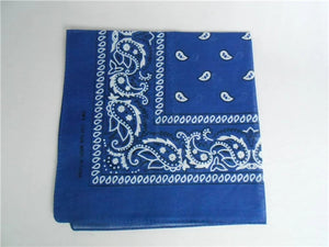 100% Cotton Paisley Bandanas Double Sided (6 Count) - topjewelry4u.com