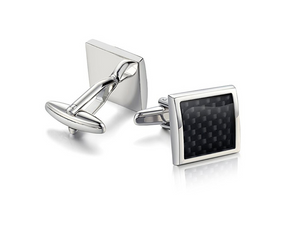 High quality French shirt cufflinks Carbon fiber cuffs Dresses Umbrella cufflinks - topjewelry4u.com