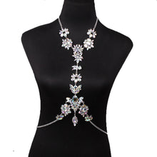 Load image into Gallery viewer, Alloy gemstone body chain - topjewelry4u.com