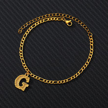 Load image into Gallery viewer, 26 English alphabet anklets - topjewelry4u.com