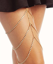Load image into Gallery viewer, Body chain full of multi-layered leg chains - topjewelry4u.com