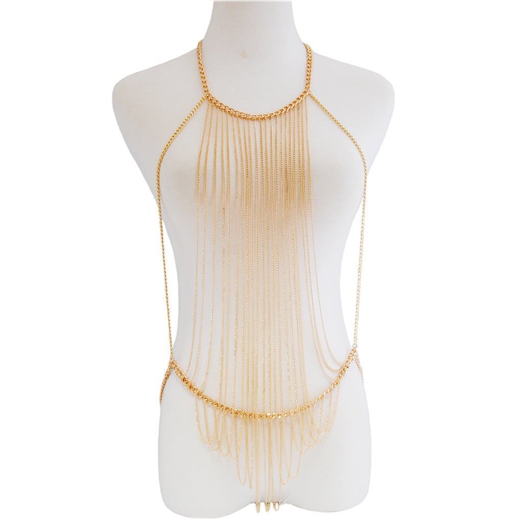 Fashion body Necklace - topjewelry4u.com