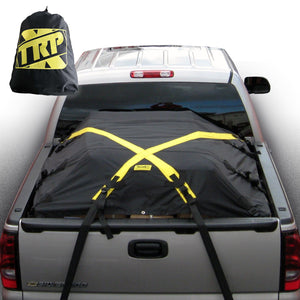 MEDIUM X-Cover | Truck Bed Cargo Cover - Fits Short Bed, Standard Bed, and Utility trailers up to 6'6""