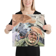 Load image into Gallery viewer, Glass Bottom Canvas print