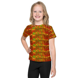 Bus plaid Kids T-Shirt