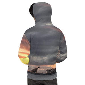 Sundown Long Beach Unisex Hoodie
