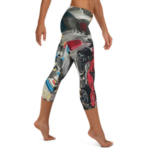 Rocket Box Capri Leggings