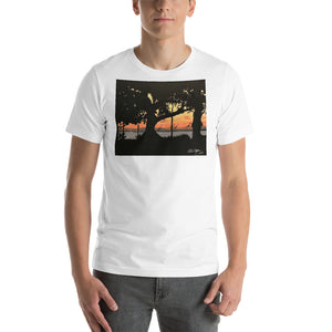 Jurassic Beach Short-Sleeve Unisex T-Shirt