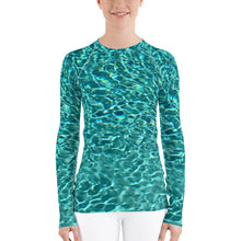 Load image into Gallery viewer, Swimming Pool Women's Rash Guard