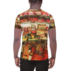 Carz All-Over Print Men's Athletic T-shirt