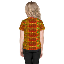Load image into Gallery viewer, Bus plaid Kids T-Shirt