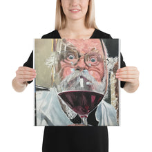 Load image into Gallery viewer, Wine Drinker Canvas print