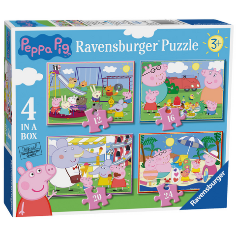 Peppa Pig 4 Jigsaw Puzzles