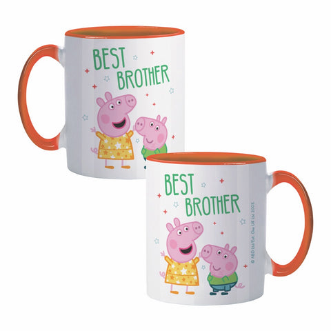 Best Brother Coloured Insert Mug