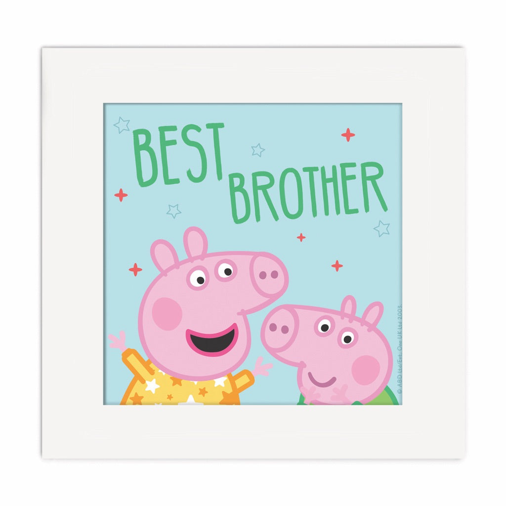 Best Brother Square Art Print Square Art Print 2