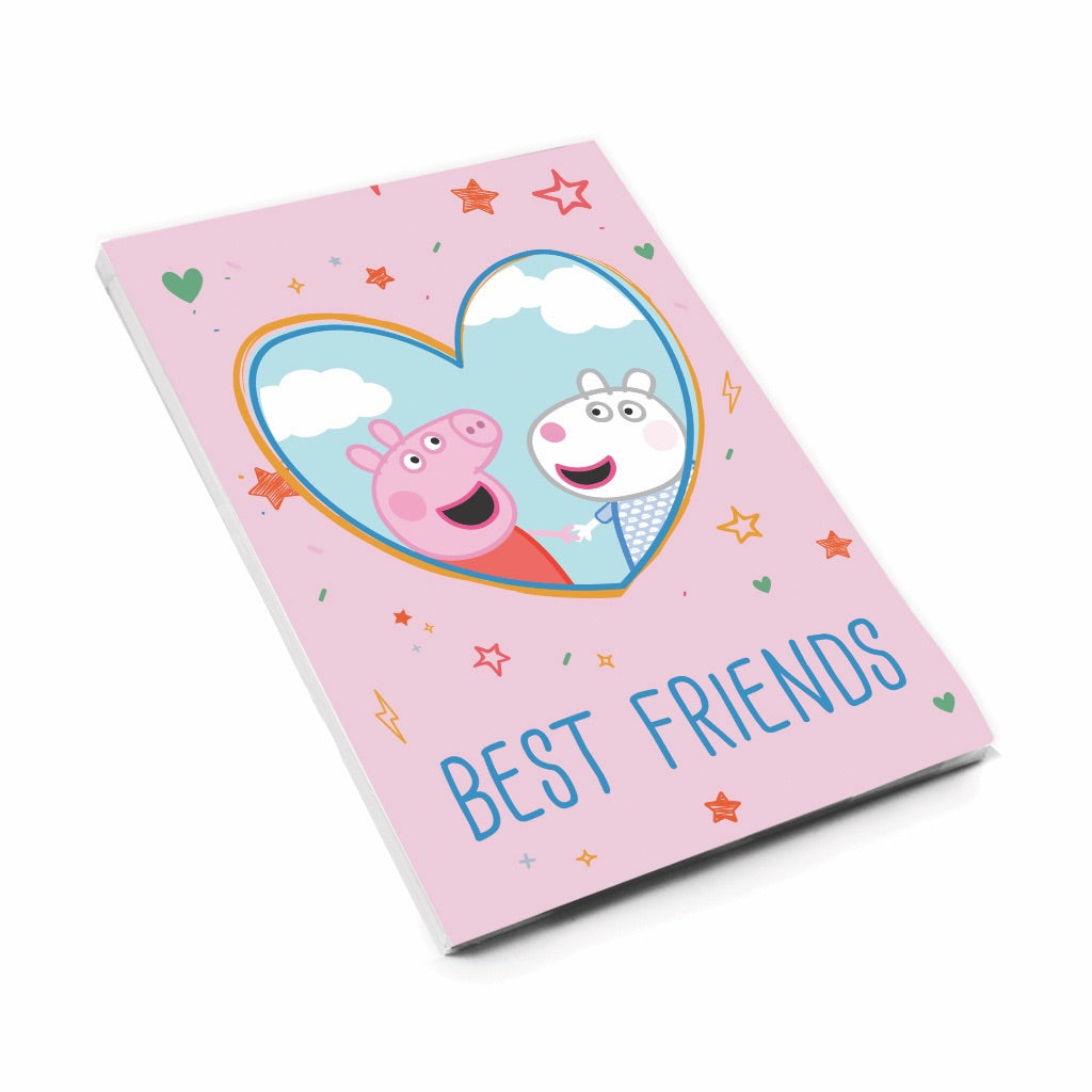 Best Friends A6 Magnetic Notepad
