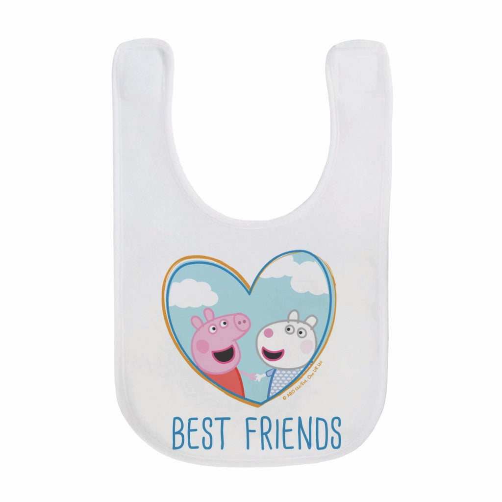 Best Friends Baby Bib