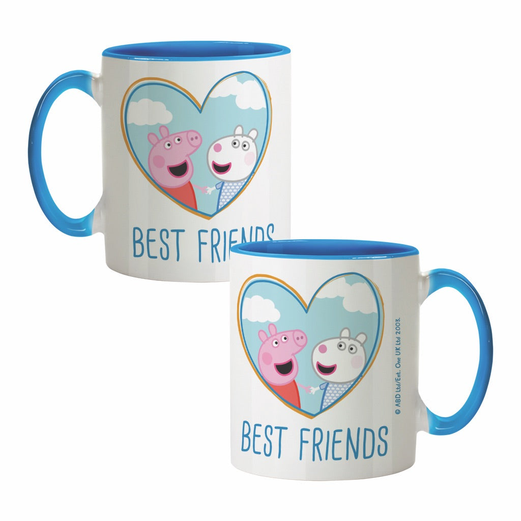 Best Friends Coloured Insert Mug