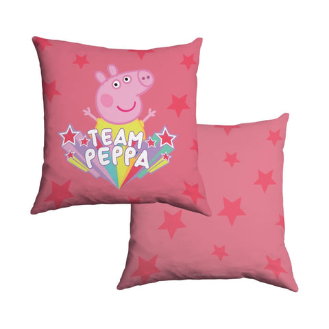 Team Peppa Cotton Cushion