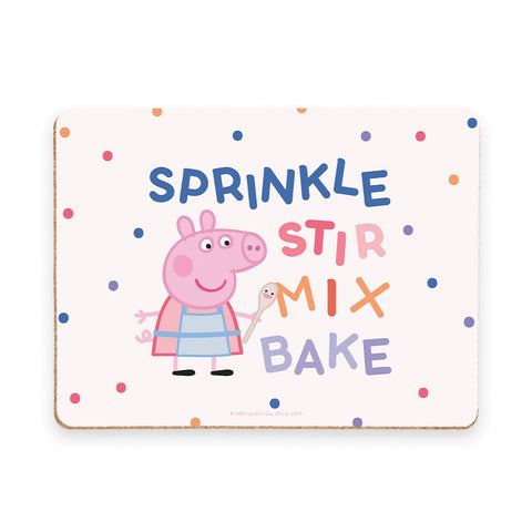 Sprinkle Stir Mix Bake Placemat