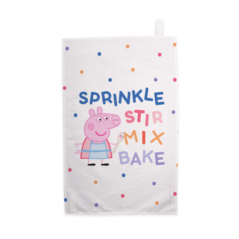Sprinkle Stir Mix Bake Tea Towel