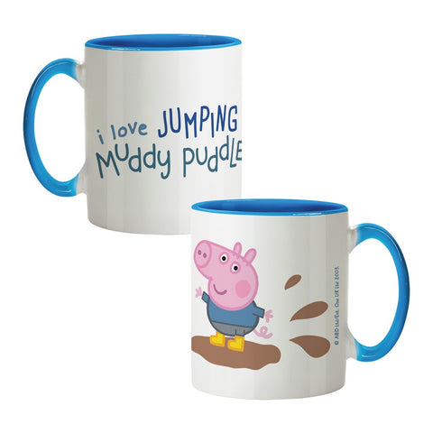 George Muddy Puddles Coloured Insert Mug