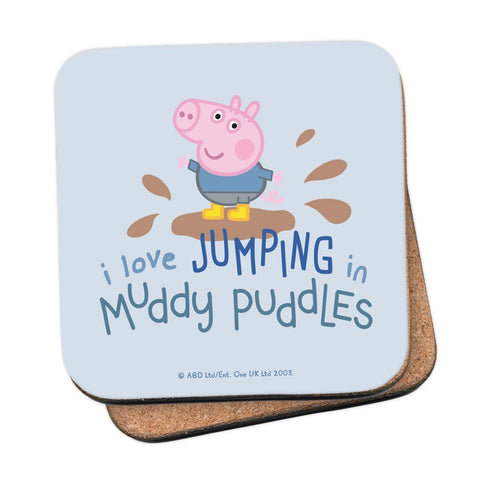 George Muddy Puddles Coaster