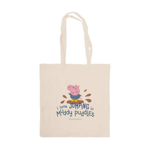 George Muddy Puddles Tote Bag