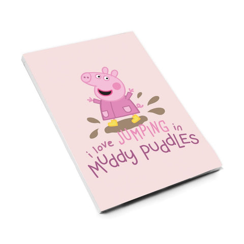 Peppa Muddy Puddles A6 Magnetic Notepad