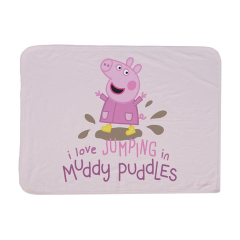 Peppa Muddy Puddles Baby Blanket