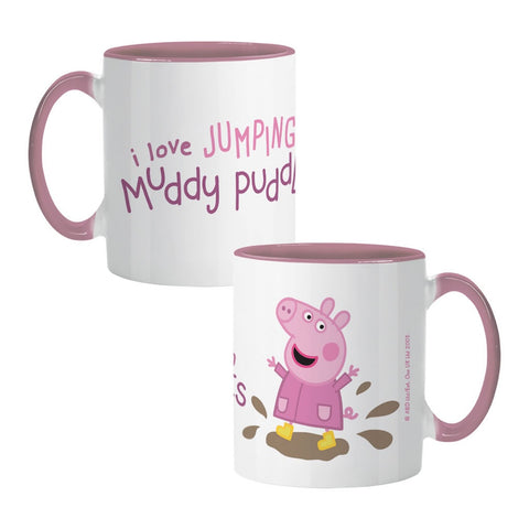 Peppa Muddy Puddles Coloured Insert Mug