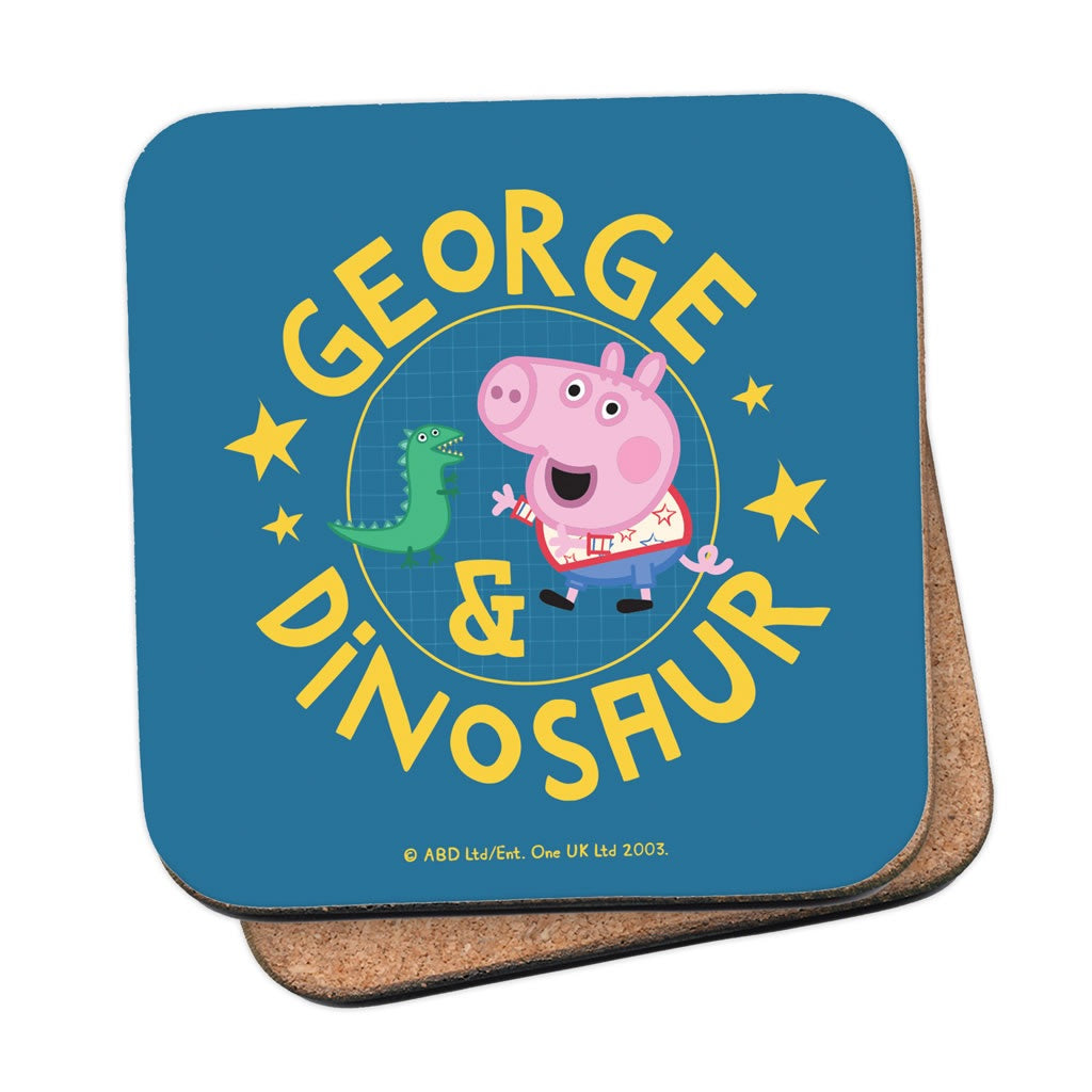 George and Dinosaur Coaster