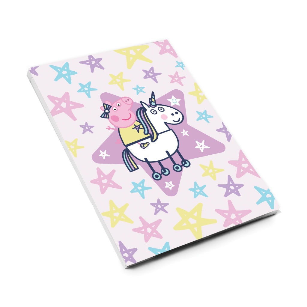 Peppa and Unicorn A6 Magnetic Notepad