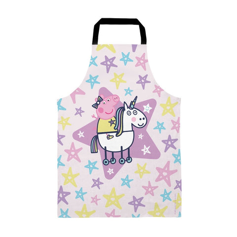 Peppa and Unicorn Apron