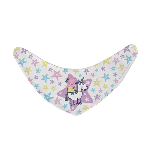 Peppa and Unicorn Baby Bandana