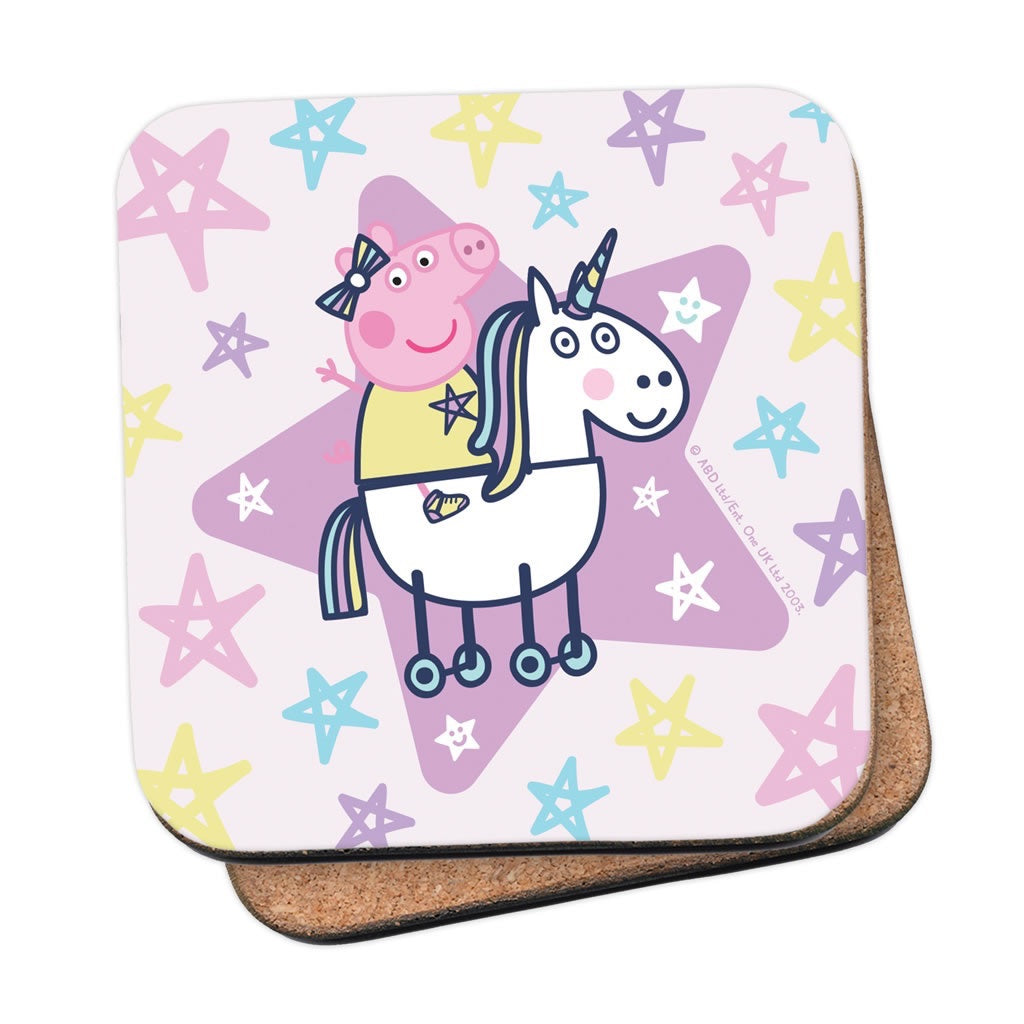 Peppa and Unicorn Coaster