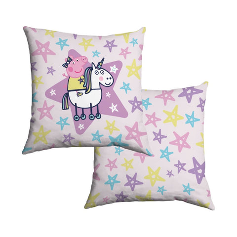 Peppa and Unicorn Cotton Cushion