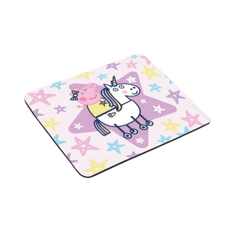 Peppa and Unicorn Mouse Mat