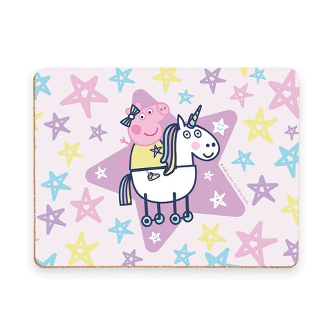 Peppa and Unicorn Placemat